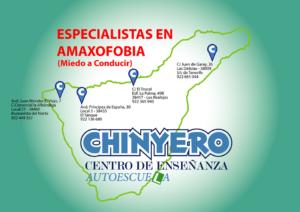 mapa chinyero secciones